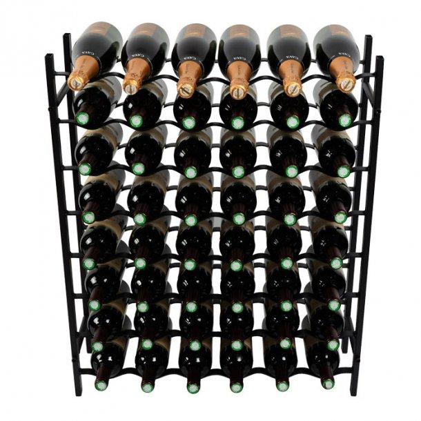 Fina - 48 flasker - Svart metall
