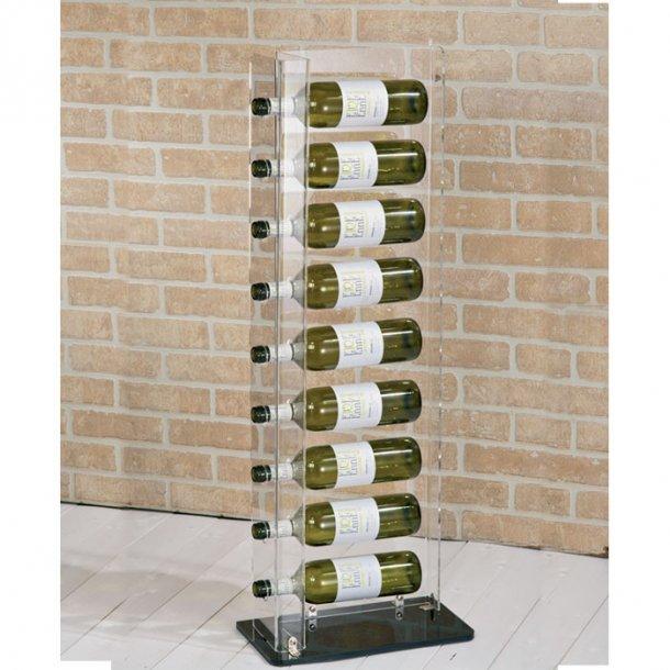 Parma  - Akryl Gulvstander 9 flasker