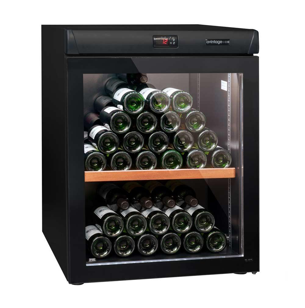avintage avv80 78 flasker 1 zone gratis levering. Black Bedroom Furniture Sets. Home Design Ideas