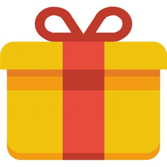 Gaveindpakning (leveringstid forlænges med 2-3 dage)